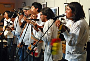 Peruvian Music Band at Greenburgh Library's Café de Siete program