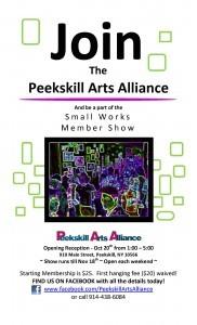 Peekskill Arts Alliance Small Works Show