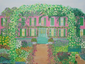 Blooming-House-II-Home-of-Claude-Monet-GivernyFrance