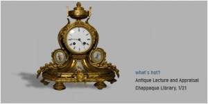 012114_Antique Lecture and Appraisal Series