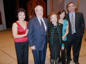 The Antonin String Quartet with Glenn Dicterow, first violin
