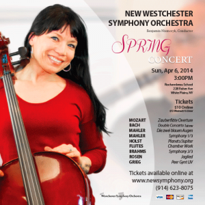 New Westchester Symphony Orchestra Spring Concert