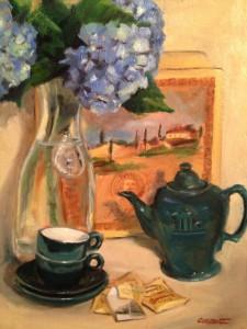 McCormack Tea Pot Painting