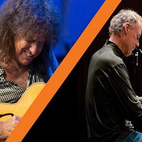 Pat Metheny Unity Group (←→) Bruce Hornsby - with Sonny Emory / Campfire Tour 2014