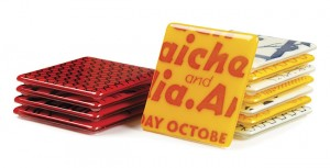 Hip To Be Square: Graphic Coasters