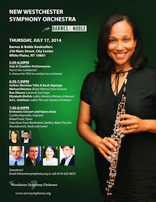 New Westchester Symphony Orchestra Bookfair and Performances at Barnes and Noble, White Plains