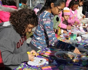 Family Fun Fall Festival – Window Painting and Mask Making
