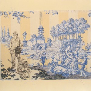 New American Toile Remnant (day laborers)