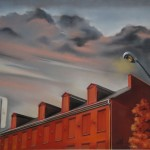 """Bruce Withers , """"Early Dusk on Prince Street"""""""