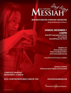 New Westchester Symphony Orchestra's 3rd Annual Messiah Sing-Along
