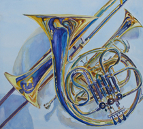 Glorius Colors of Chorus and Brass: Six Composers, Five Countries, Four Centuries & Three Languages