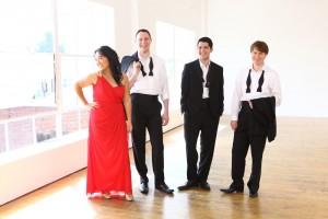 Calidore String Quartet: Jeffrey Meyers, violin Ryan Meehan, violin Jeremy Berry, viola Estelle Choi, cello