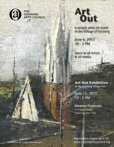 ART OUT, a unique plein air event, open to all media