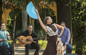 Wednesday Morning Concert Flamenco in the Courtyard