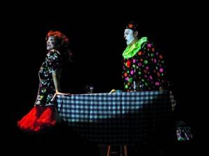 Pagliacci Circus scene