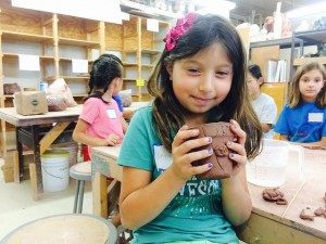 kids handbuilding
