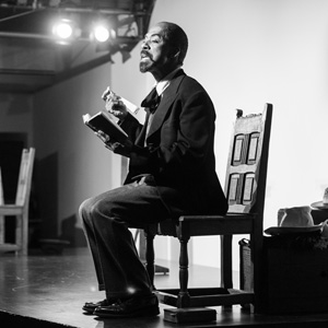 Brian Richardson as WEB DuBois sm