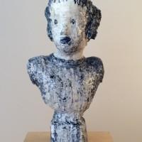 Siegel, Elise_Cobalt Portrait Bust, 2015, 27X13X9_