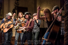Cole Quest and the City Pickers performing Roots Music in the Music Room at Caramoor in Katonah New York on October 17, 2015. 