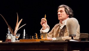 "Actor Ian Ruskin embodies Thomas Paine in the world premiere of ""To Begin the World Over Again: the Life of Thomas Paine,"" presented by Age of Reason Productions Wednesday, June 1 at the Floyd and Delores Jones Playhouse, Seattle, Washington."