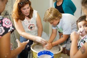 Clay Art Center Open House Kids lr