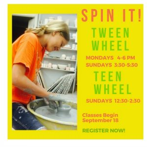 Youth Classes Fall 2016 Teen lr