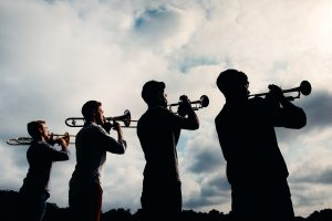The Westerlies (photo courtesy of Caramoor Center for Music and the Arts)