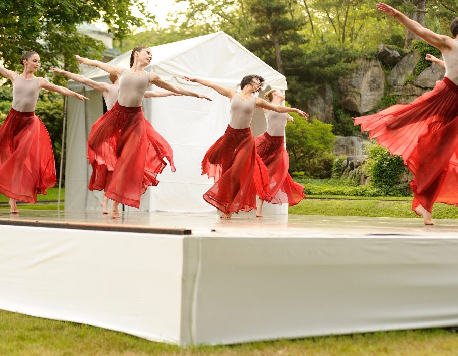 RIOULT Dance NY performed at The Pocantico Center (photo credit: Todd Shapera)