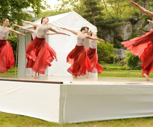 RIOULT dancers perform at Kykuit, the Rockefeller Estate, Pocantico Hills