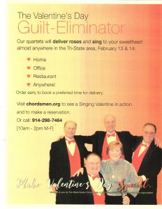 a singing valentine a gift like no other