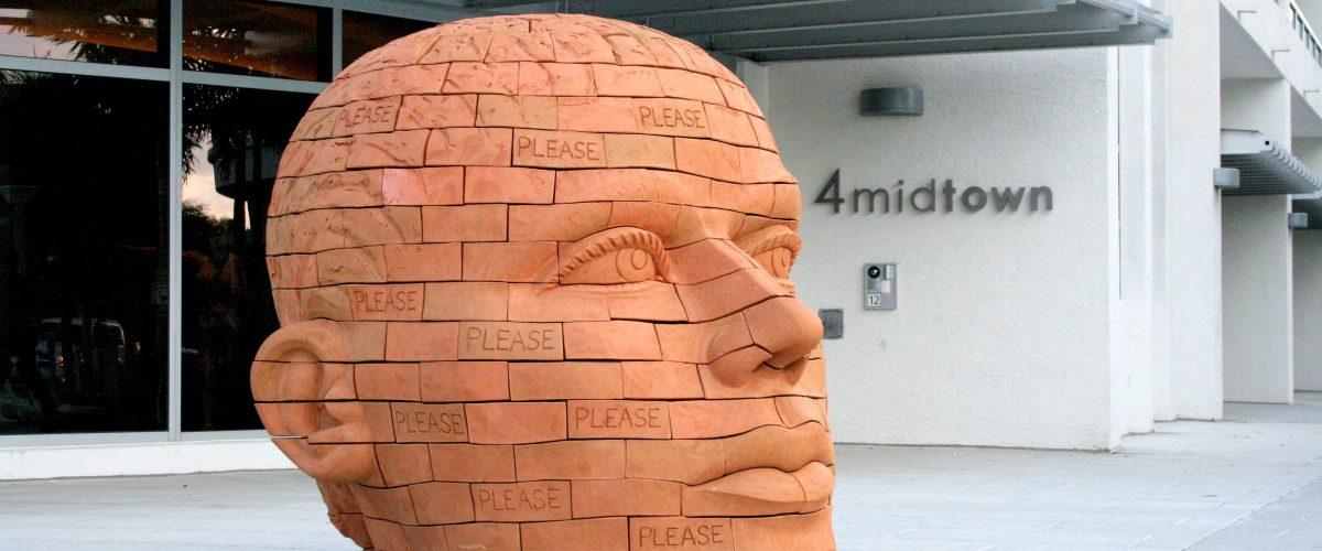 """Brickhead: Please Stop"" by James Tyler"