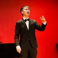 Conservatory teen student Yixi Xue sang his heart out at the Music Conservatory of Westchester's Performathon fundraiser on Saturday, December 8th, 2018.