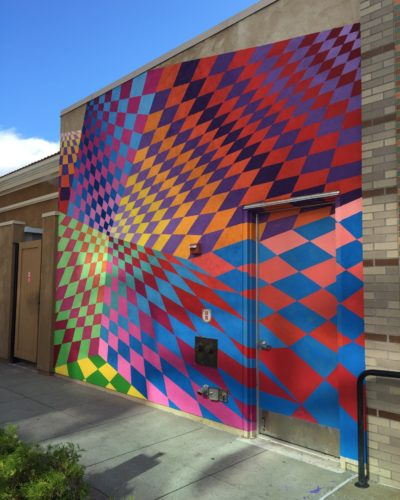 Ridge Hill public art mural by artist Nick Kuszyk (photo courtesy of Ridge Hill Shopping Center)