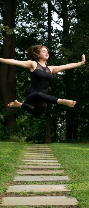 A student from Steffi Nossen School of Dance (photo credit: Ellen Crane)